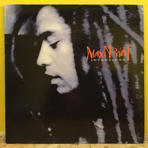 Maxi Priest - Intentions - LP - Reggae