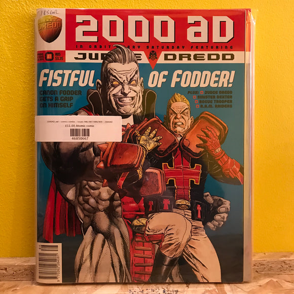 2000AD_eal - comics combo - issues 986/987/988/909 - 2000AD
