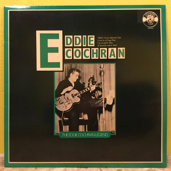 The Eddie Cochran Legend - LP - rock n roll