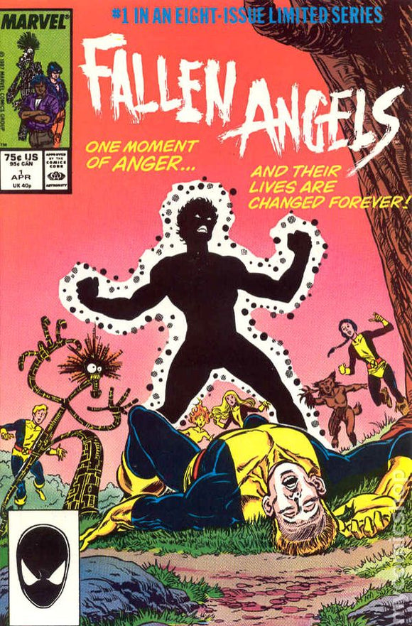 Fallen Angels - 8 Issue Limited Series - Issues 1 to 8 - Marvel Comics