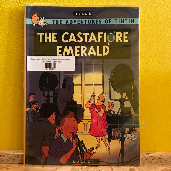Graphic Novel - Tintin - The Castafiore Emerald - Egmont