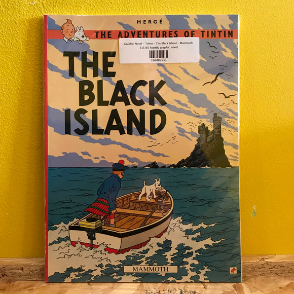 Graphic Novel - Tintin - The Black Island - Mammoth
