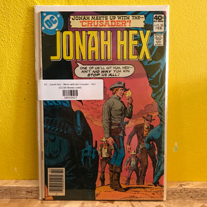 DC - Jonah Hex - Meets with the Crusader - #33