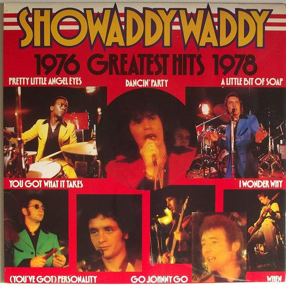 Showaddywaddy - Greatest Hits 1976 to 1978 - LP - rock