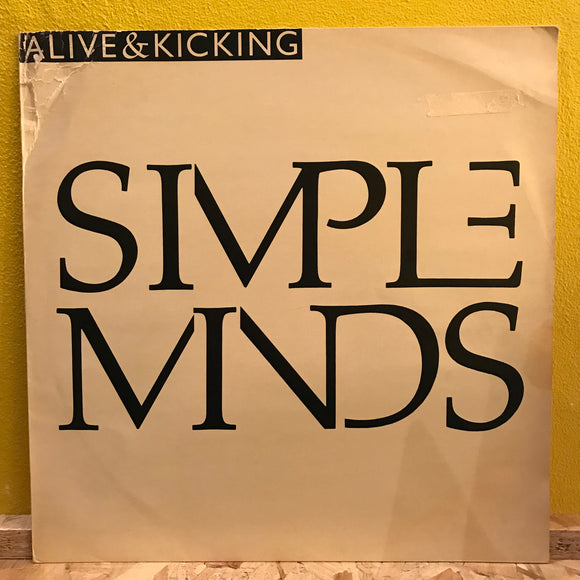 Simple Minds - Alive & Kicking - 12