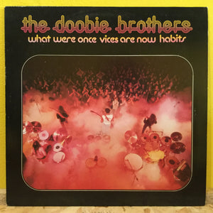 Doobie Brothers - What were once Vices...- Rock - LP+Poster