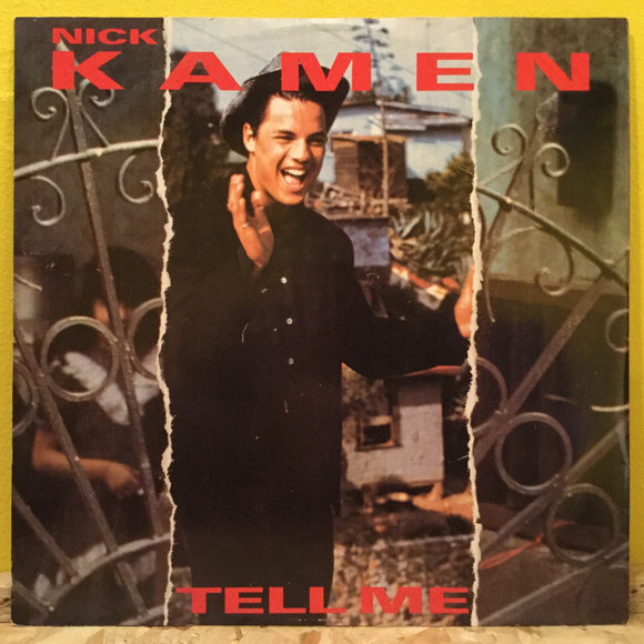 Nick Kamen - Tell Me - Synth Pop - 12