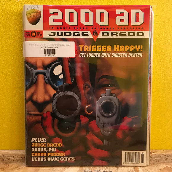 2000AD_eal - comics combo - issues 981/982/983/984/985 - 2000AD