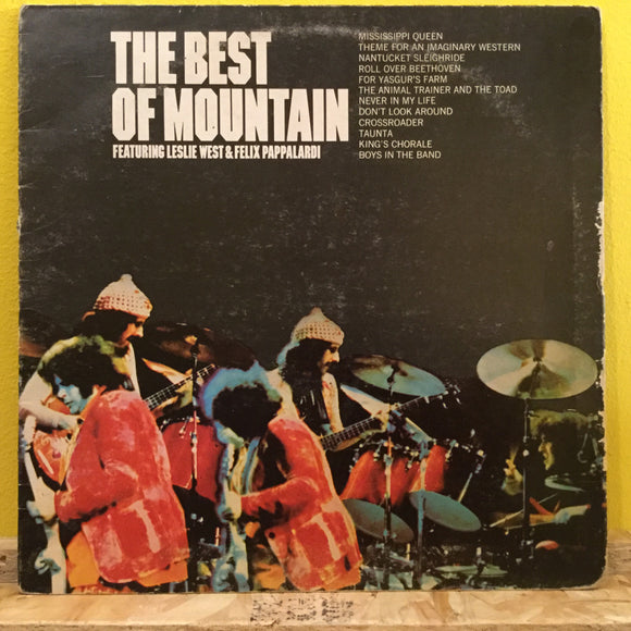 The Best of Mountain - Mountain - LP - rock