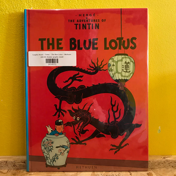 Graphic Novel - Tintin - The Blue Lotus - Methuen