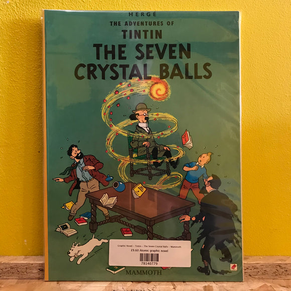 Graphic Novel - Tintin - The Seven Crystal Balls - Mammoth