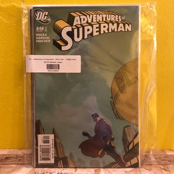 DC - Superman - Adventures of - (Isses 643 to 646) - Comics Combo