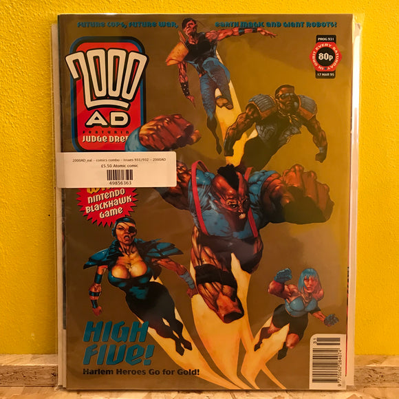 2000AD_eal - comics combo - issues 931/932 - 2000AD