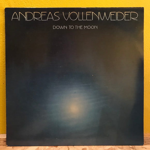 Andreas Vollendender - Down to the Moon - LP - electronic