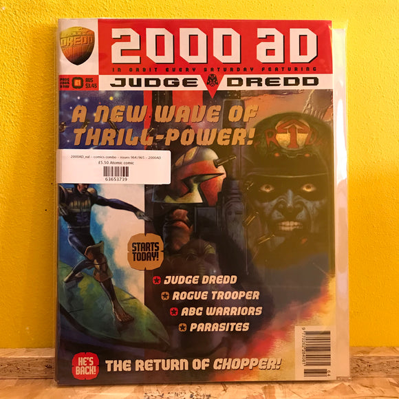 2000AD_eal - comics combo - issues 964/965 - 2000AD