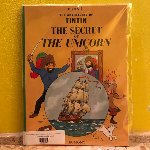 Graphic Novel - Tintin - The Secret of the Unicorn - Egmont