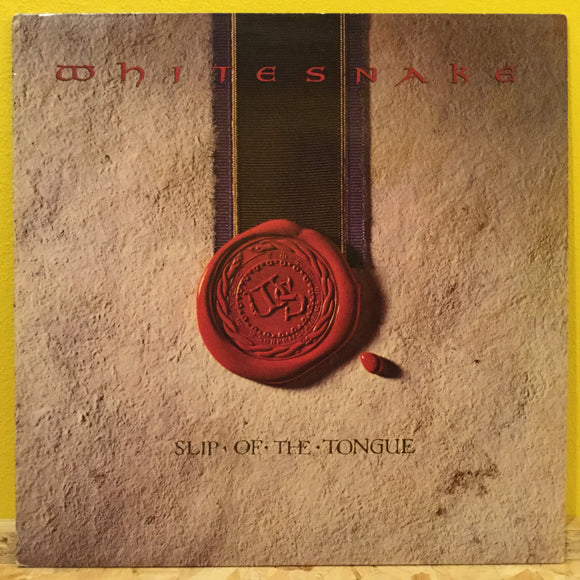 Whitesnake - Slip of the Tongue - LP - hard rock