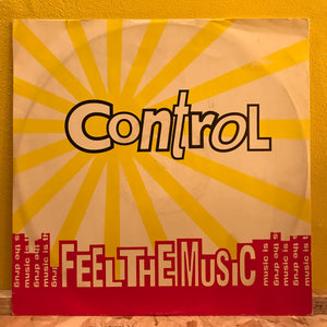 "Control - Feel the Music - 12""single - Electronic"