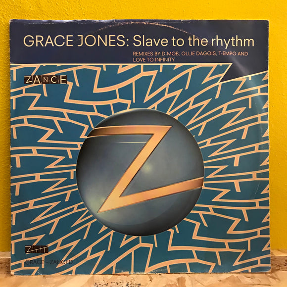 Grace Jones - Slave to the Rhythm - 12