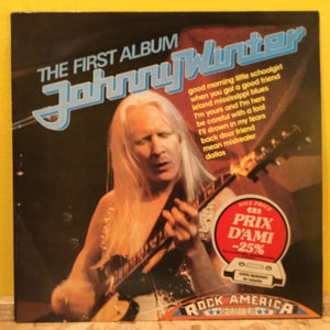 Johnny Winter - The First Album - LP - Rock