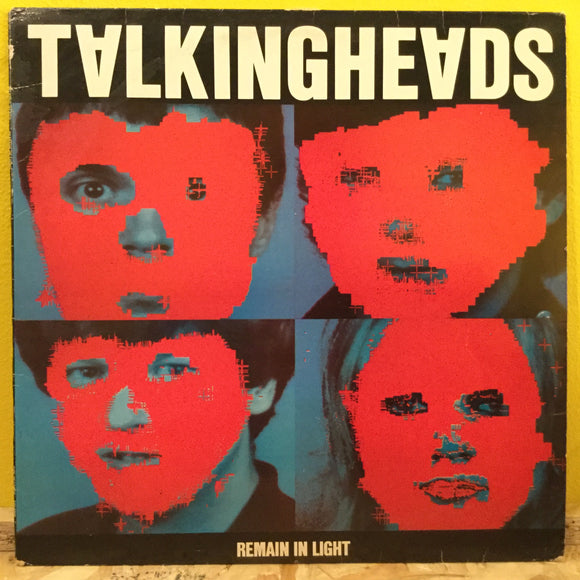 Talking Heads - Remain in Light - LP - New Wave