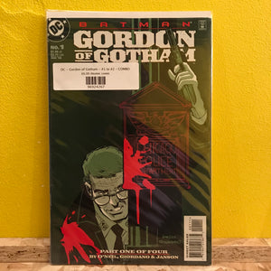 DC - Gordon of Gotham - #1 to #2 - COMBO