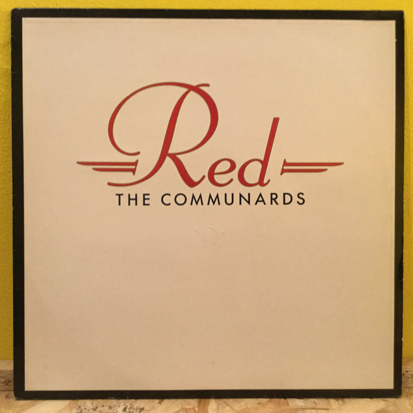 The Communards - Red - LP - synth pop