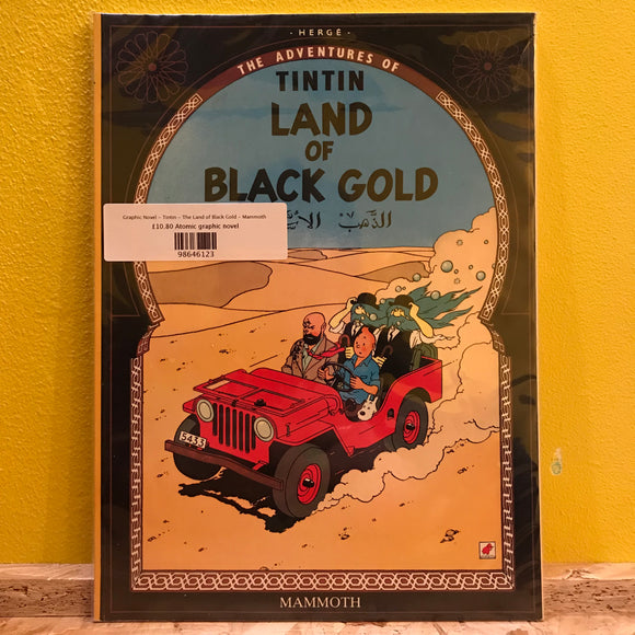Graphic Novel - Tintin - The Land of Black Gold - Mammoth