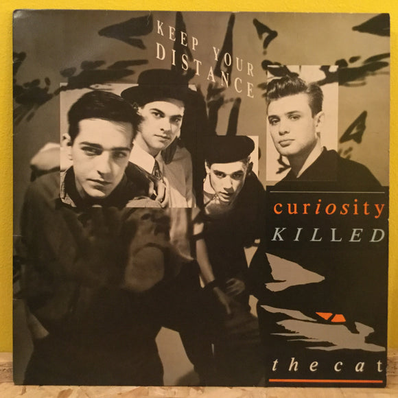 Curiosity Killed the Cat - Keep Your Distance - LP - Synth Pop