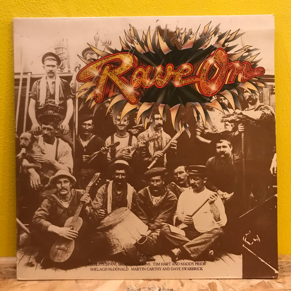 Rave on - Compilation - LP - Folk Rock