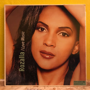 "Rozalla - I Love Music - 12"" - electronic"