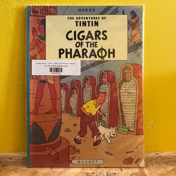 Graphic Novel - Tintin - Cigars of the Pharaoh - Magnet