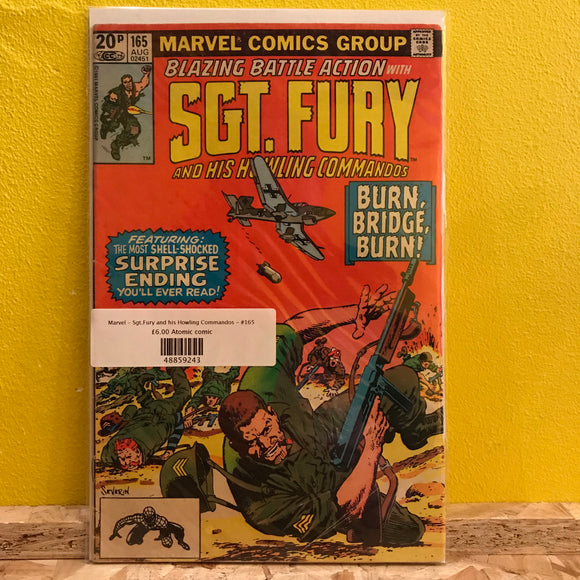 Marvel - Sgt.Fury & His Howling Commandos - Comic - (Issue 165)