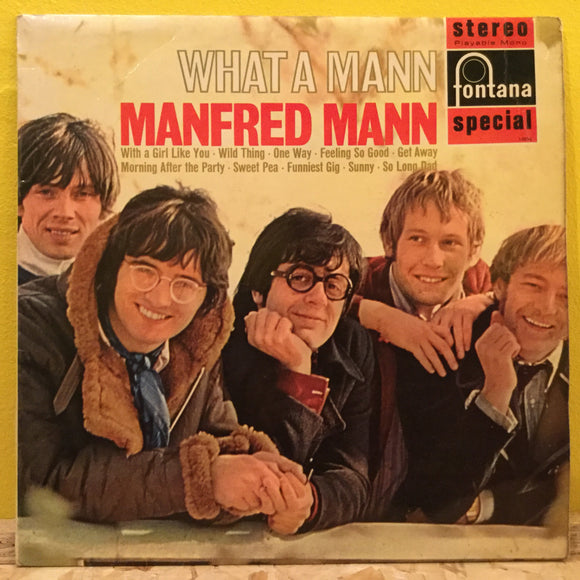 Manfred Mann - What a Mann - LP - Pop Rock