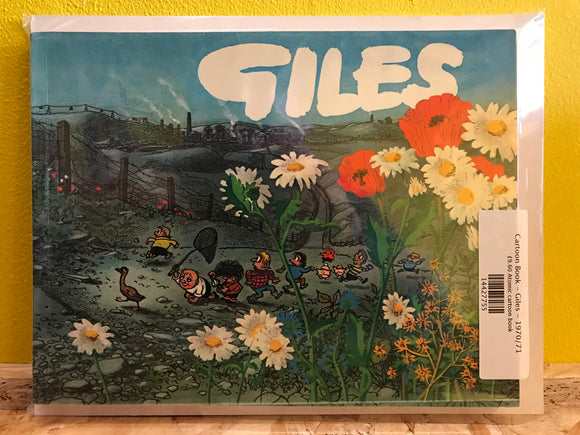 Cartoon Book - Giles - 1970/71