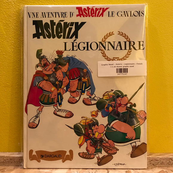 Graphic Novel - Asterix - Legionnaire - French