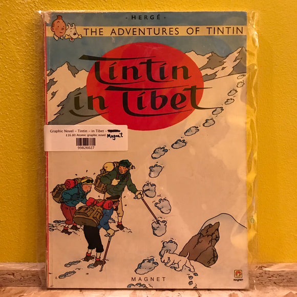 Graphic Novel - Tintin - in Tibet - Magnet