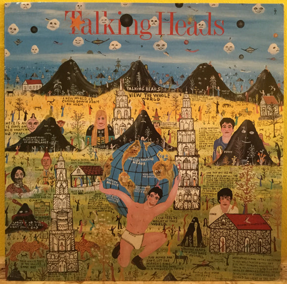 Talking Heads - Little Creatures -LP - new wave