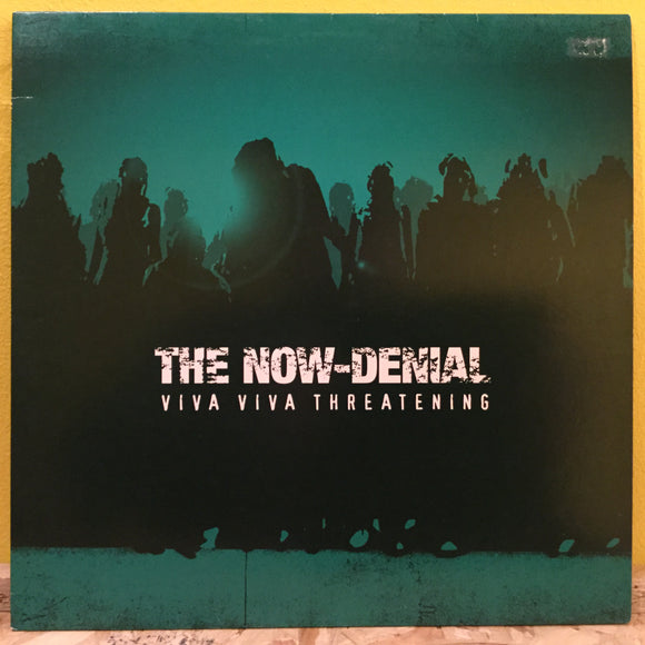 The Now-Denial ‎– Viva Viva Threatening - LP - hardcore punk