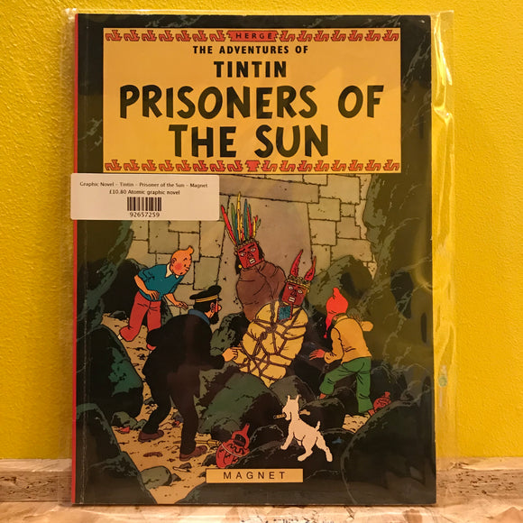 Graphic Novel - Tintin - Prisoner of the Sun - Magnet