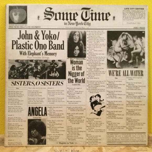 Lennon/Ono - Some Time in New York City - LP - Rock