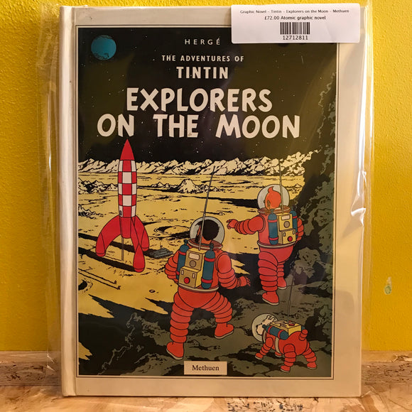 Graphic Novel - Tintin - Explorers on the Moon - Methuen