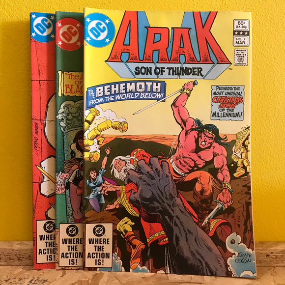 DC - Arak: Son of Thunder - DC Cobmo (Issues 7 to 9) - comics