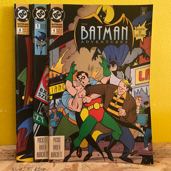 DC - The Batman Adventures - DC Combo - (Issues 4 to 6) - comic