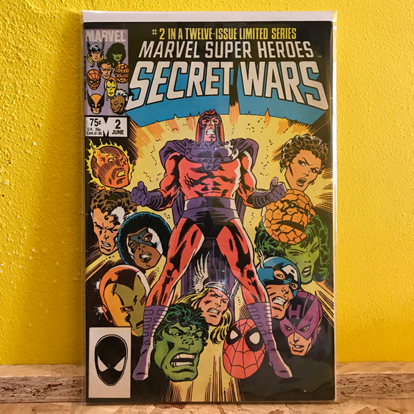 Marvel - Marvel Super Heroes: Secret Wars (1985) - (Issue 2) - comics