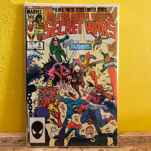 Marvel - Marvel Super Heroes: Secret Wars (1985) - (Issue 5) - comics
