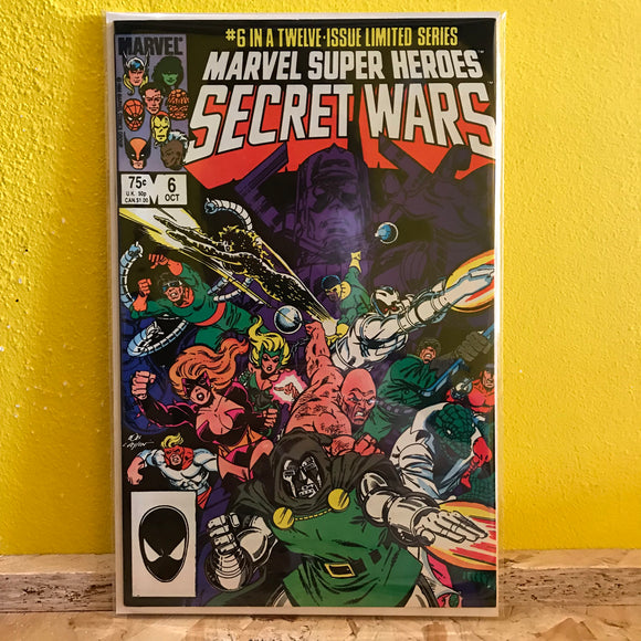 Marvel - Marvel Super Heroes: Secret Wars (1985) - (Issue 6) - comics