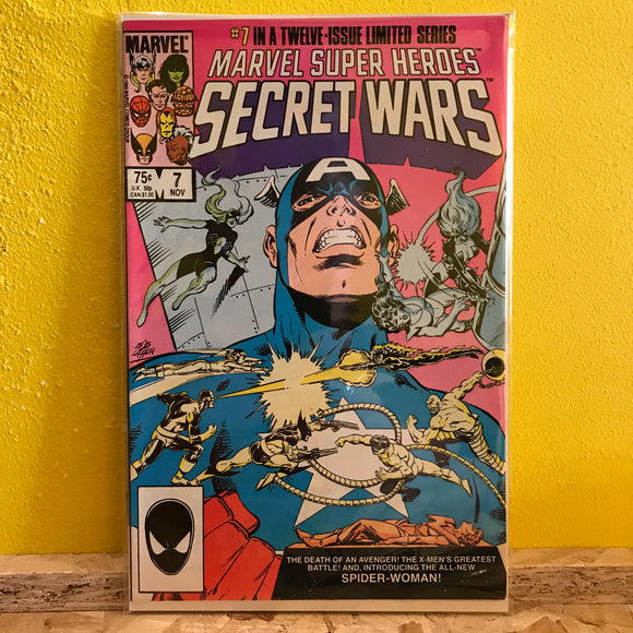 Marvel - Marvel Super Heroes: Secret Wars (1985) - (Issue 7) - comics