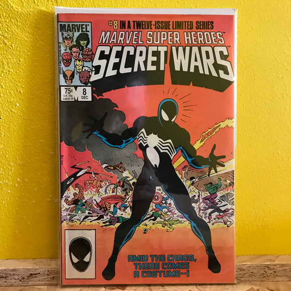 Marvel - Marvel Super Heroes: Secret Wars (1985) - (Issue 8) - comics