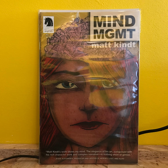 Dark Horse (Originals) - Mind MGMT - (Issues 1 to 4) - comics